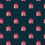 Home Seamles Repeat Pattern. Image of homes with seamles repeat pattern design for your project, background etc. Enjoy and fun vector illustration