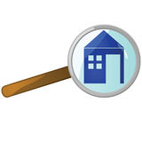 Home search Stock Photo
