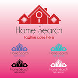 Home Search Logo. Is a great logo for business related to housing ex: real estate, realtor, etc Royalty Free Stock Photo
