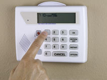 Home security Stock Image