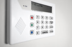 Free Home Security Alarm System Royalty Free Stock Photo - 25896985