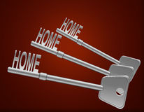 Home security concept. Stock Images