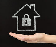 Home security concept. Royalty Free Stock Photography