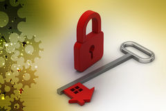 Home security concept Royalty Free Stock Photography