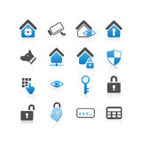 Home security concept icon Stock Photos