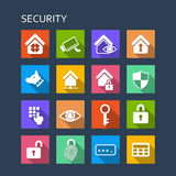 Home security concept icon Royalty Free Stock Image