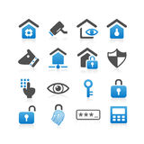 Home security concept icon. Set - Simplicity Series Royalty Free Stock Images