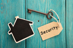 home security concept Stock Photo