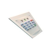 Home security, control panel, plastic, safety Stock Image