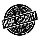 Home Security rubber stamp Stock Photo