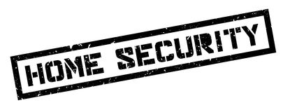 Home Security rubber stamp Royalty Free Stock Photos