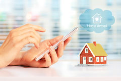 Free Home Security System Stock Image - 85487031
