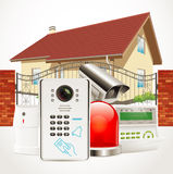Home security system Royalty Free Stock Photos
