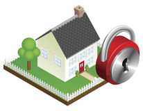 Home security system concept Royalty Free Stock Photos