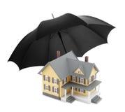 HOME segura Imagem de Stock