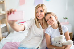 Home selfie Stock Photography