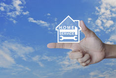 Home service concept Royalty Free Stock Photography