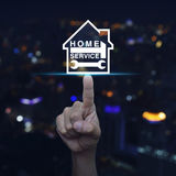Home service concept Royalty Free Stock Image