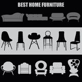 Home set.Best home furniture Stock Photos
