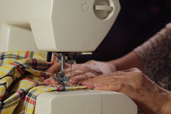 Home Sewing Royalty Free Stock Image