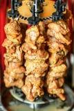 Home shish kebab Stock Photography