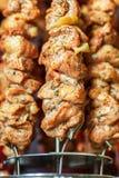 Home shish kebab Royalty Free Stock Images