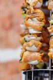 Home shish kebab Royalty Free Stock Photography