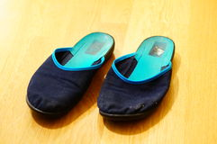 Home shoes Stock Photography