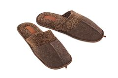 Home shoes Royalty Free Stock Photography