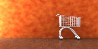 Home-Shopping Stockfoto