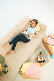 Home shopping Royalty Free Stock Image