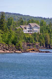 A Home on the Shore of Lake Superior Royalty Free Stock Image