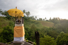 Home shrine in Bali Stock Photography