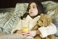 Home Sick Stock Image