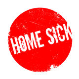 Home Sick rubber stamp Stock Photos