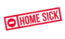 Home Sick rubber stamp Royalty Free Stock Images