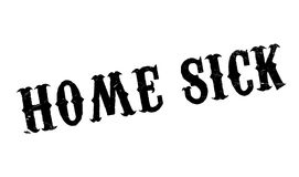 Home Sick rubber stamp Royalty Free Stock Image