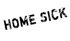 Home Sick rubber stamp Royalty Free Stock Photography