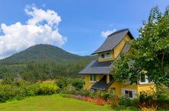Home side mountain. Binh An Village Resort, Dalat, Vietnam Stock Photography