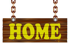 Home Sign Royalty Free Stock Image