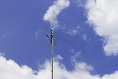 Home signal pole Stock Photos