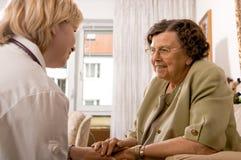 home sjukvård Royaltyfri Bild