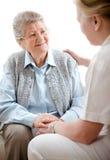 home sjukvård Royaltyfria Bilder
