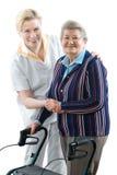 home sjukvård Fotografering för Bildbyråer