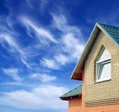 Home on sky Stock Image