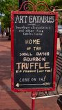 Home of the small batch Bourbon Truffle in Louisville - LOUISVILLE, USA - JUNE 14, 2019. Home of the small batch Bourbon Truffle in Louisville - LOUISVILLE stock photos