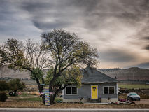 Home in a small village in Utah Stock Photography