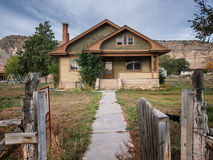 Home in a small village in Utah Royalty Free Stock Photo