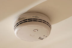 Home Smoke Detector Alarm Stock Photography