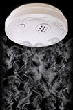 Home Smoke and Fire Detector Stock Photo